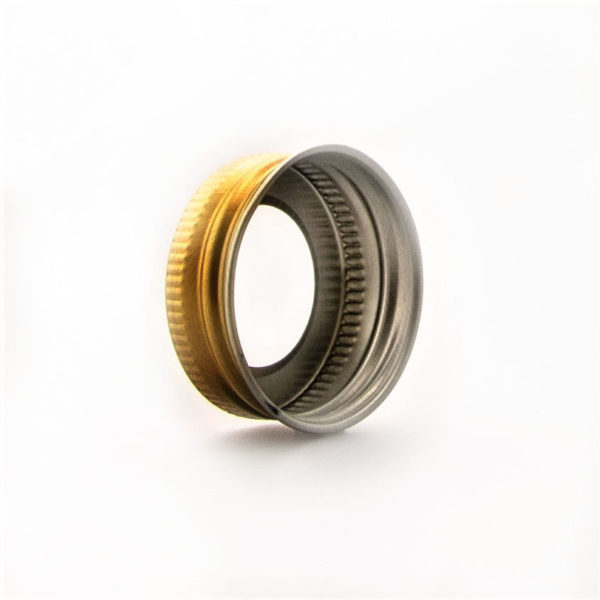 Kapsyl 2580) alu hål 36 mm 2