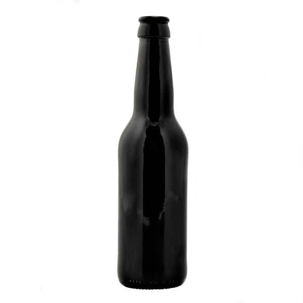 Bryggeriflaska 36011820 svart longneck ny