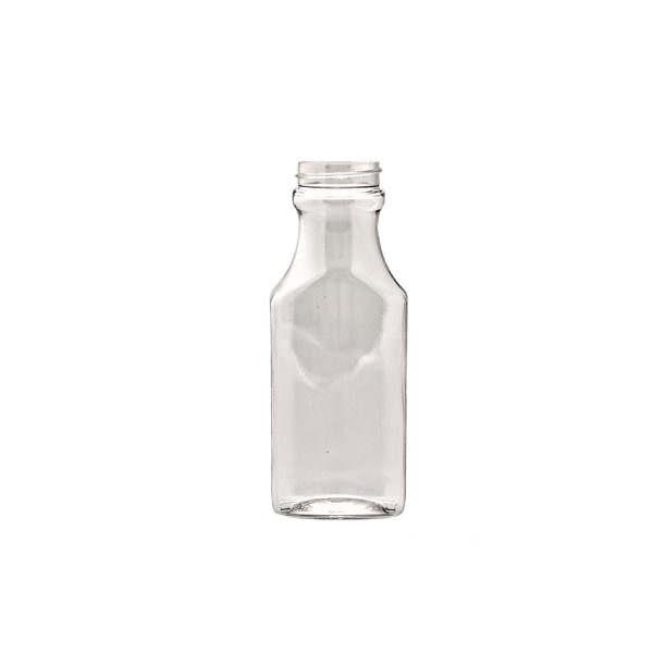 Plastflaska 5033-0150C0001 PET RETRO RECTANGULAR 150 ML