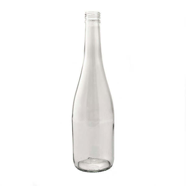 GLASFLASKA Design ( 4750-p) 750 ml klar NY.