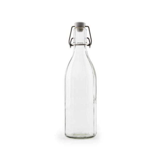 Glasflaska Tolvkantig 500 ml 4504-P
