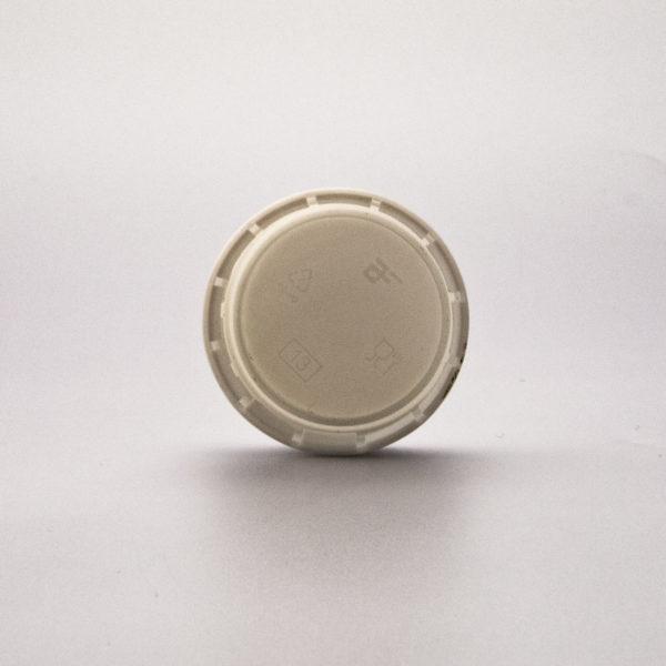 Tillbehör Kapsyl Vit 38 mm 38-3-2 insida