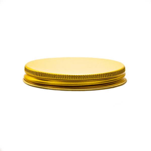 Tillbehör Lock alu 70 mm skruv med liner LDPE ska070600