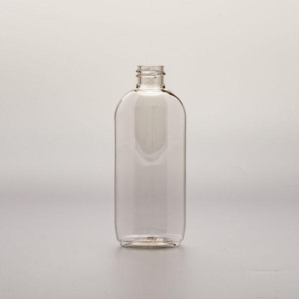 Plastflaska PET Dutch Oval 100 ml framifrån