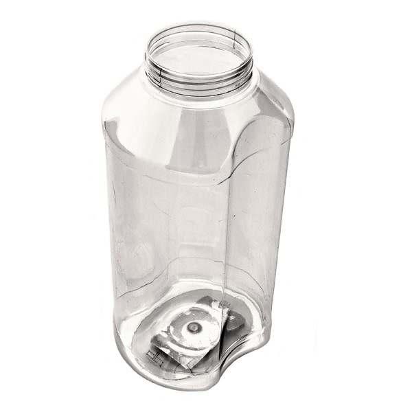 Plastburkar PET Euro Spice 1800 ml 5063-1800-0001 vinkel vit bakgrund