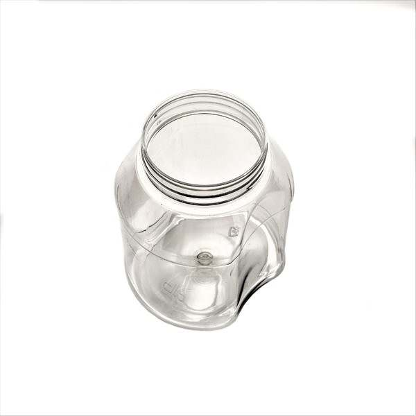 Plastburkar PET Euro Spice 500 ml 5063-0500-0001 ovanifrån vit bakgrund