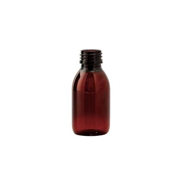 Plastflaska PET Sirop Amber 100 ml 5028-0100-000