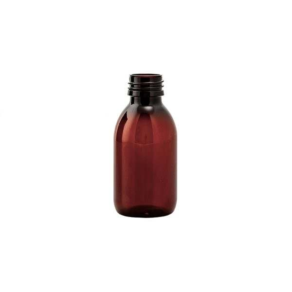 Plastflaska PET Sirop Amber 125 ml 5028-0125-0001