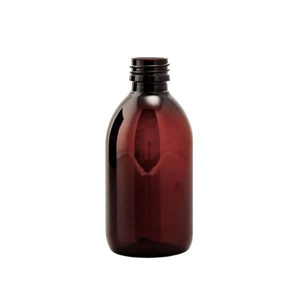 Plastflaska PET Sirop Amber 250 ml 5028-0250-0002