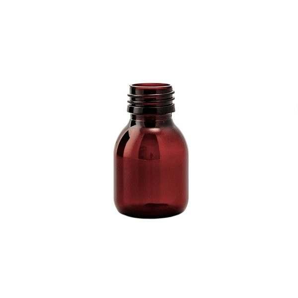 Plastflaska PET Sirop Amber 60 ml 5028-0060-0001