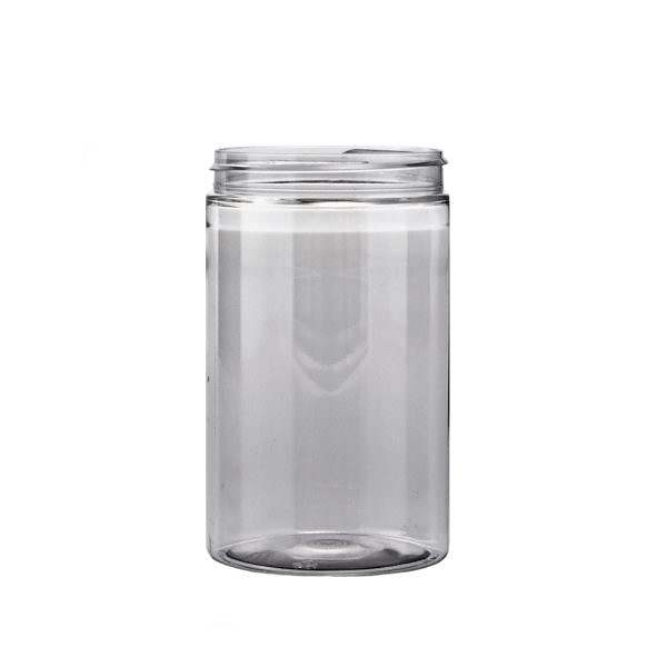 Plastburkar PET Straight Cylindrical 400 ml 5070-0400c0001