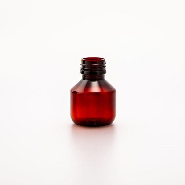 Plastflaska PET Veral Amber Hel Pall 50 ml 5028-0050-0001