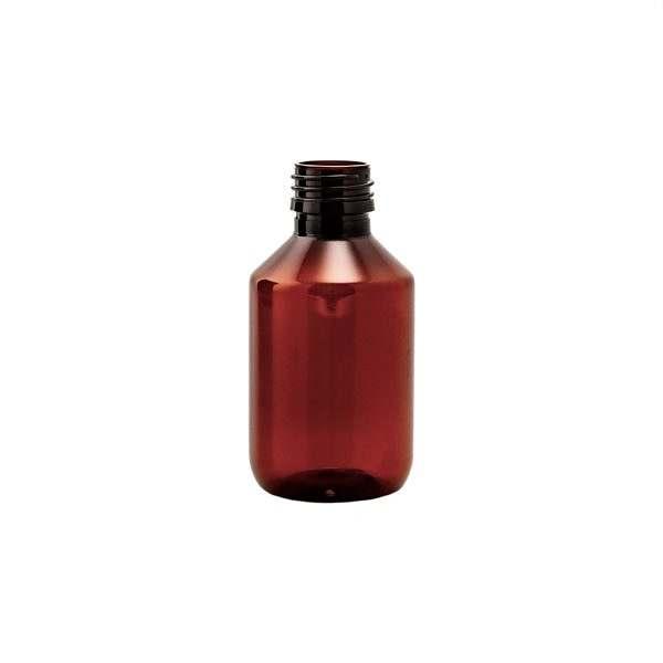 Plastflaska PET Veral Amber Hel Pall 150 ml 5028-0150-0004