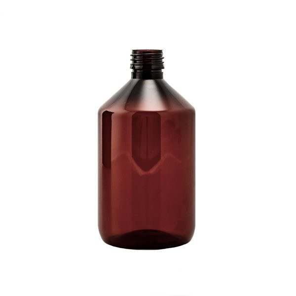 Plastflaska PET Veral Amber 500 ml 5028-0500-0003