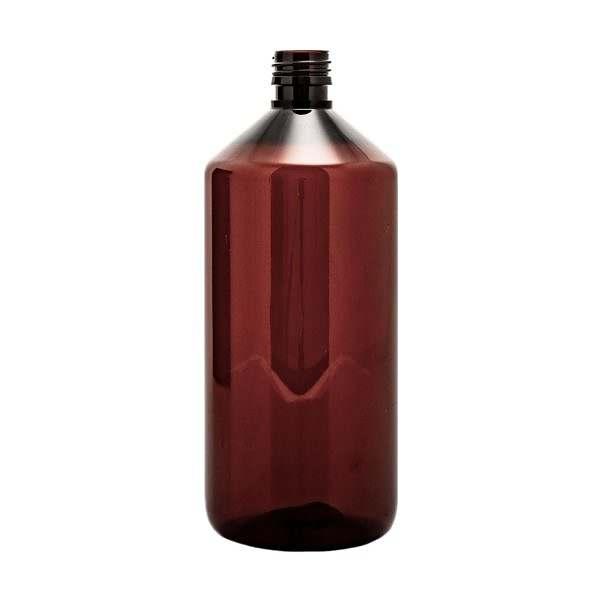 Plastflaska PET Veral Amber 1 l 5028-1000-0012