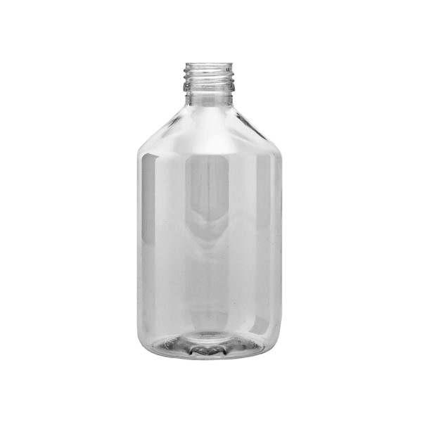 Plastflaskor PET Veral Clear 500 ml 5028-0500c004