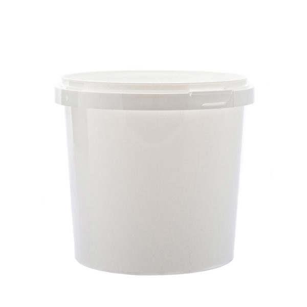 Plastburkar S Unipak 1550 ml vit 5054-10112