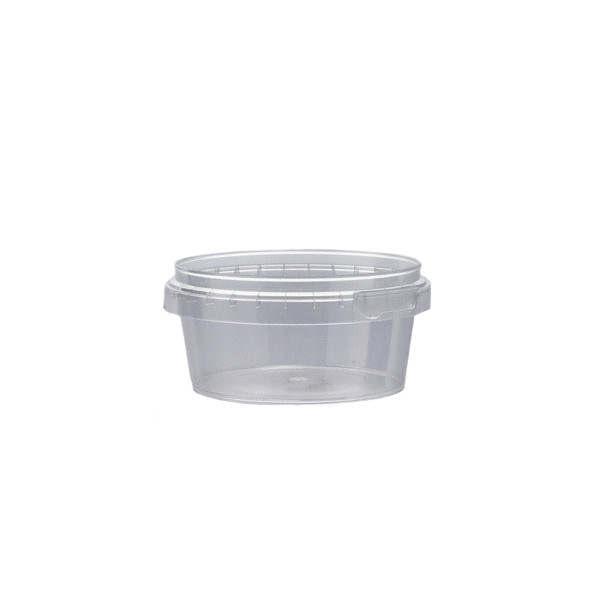 Plastburkar S Unipak 180 ml klar 5015-19906