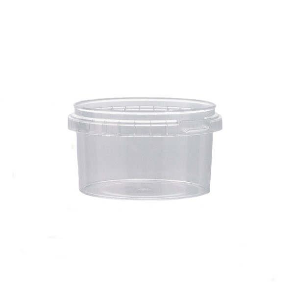 Plastburkar S Unipak 240 ml CLX 5216-19906