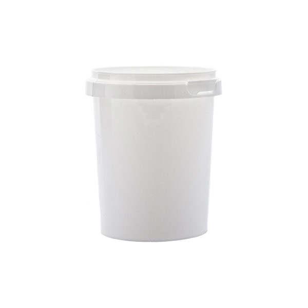 Plastburkar S Unipak 520 ml vit 5012-10102