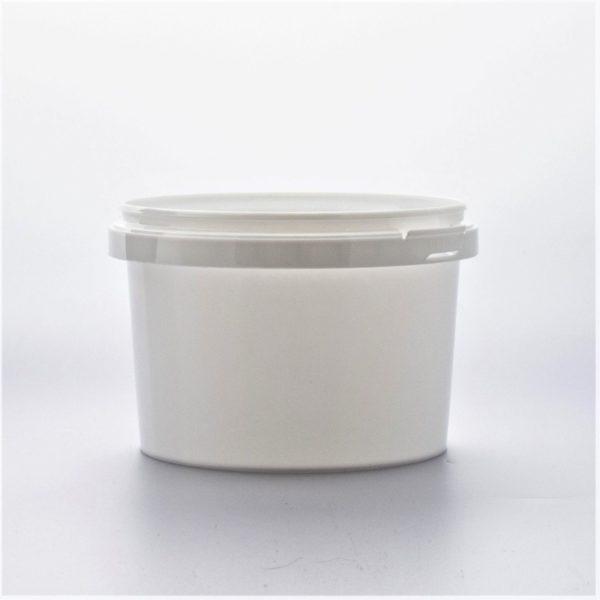 Plastburkar S Unipak 565 ml vit 5225-10102