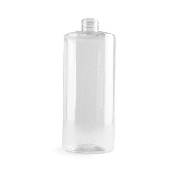 Plastflaska PET Sharp Cylindrical 750 ml 4028-0750-0001