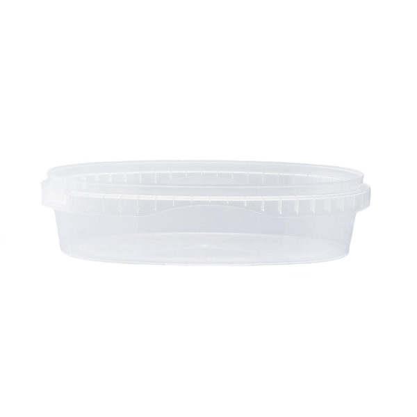 S Unipak Oval 600 ml 5551-19912 vit bakgrund