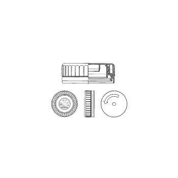 Tillbehör Lock Duma MG CAP Ritning 34mm 003418-3000